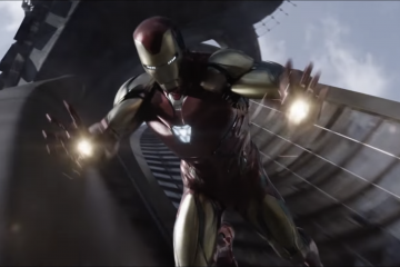 Ironman flying - Endgame