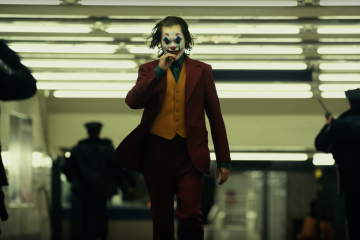 Joaquin Phoenix in a still from The Joker