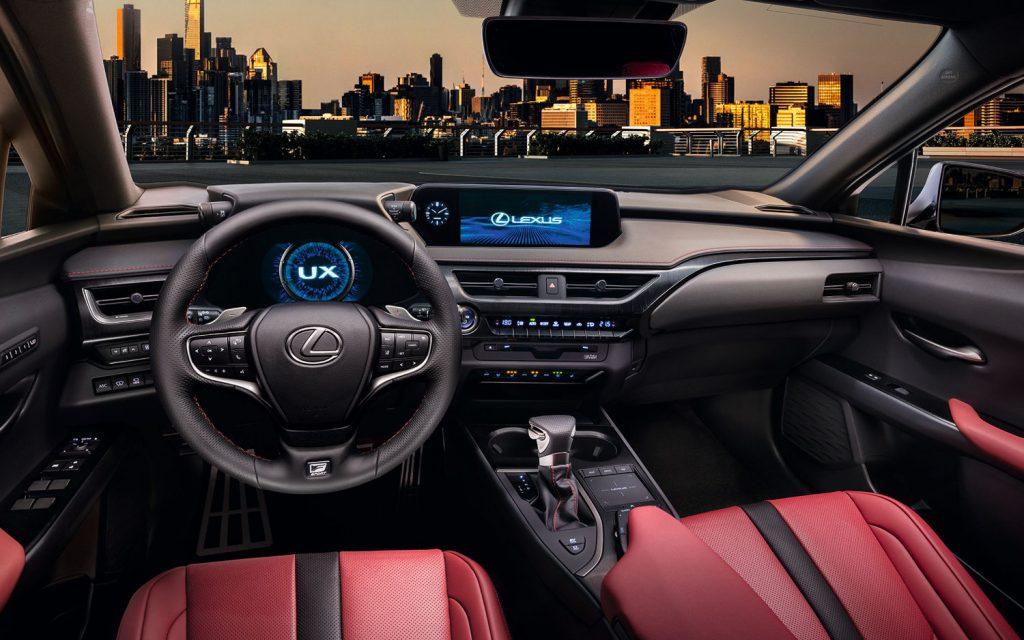 Lexus UX interior