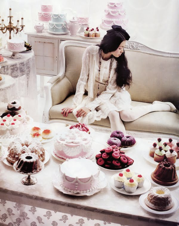Let Them Eat Cake Fashion Marie Antoinette