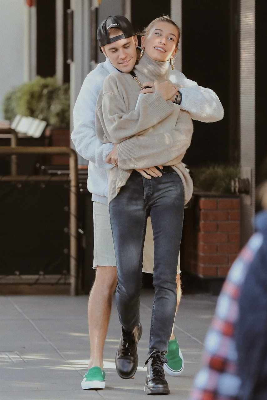 Hailey Bieber Oversized Sweater