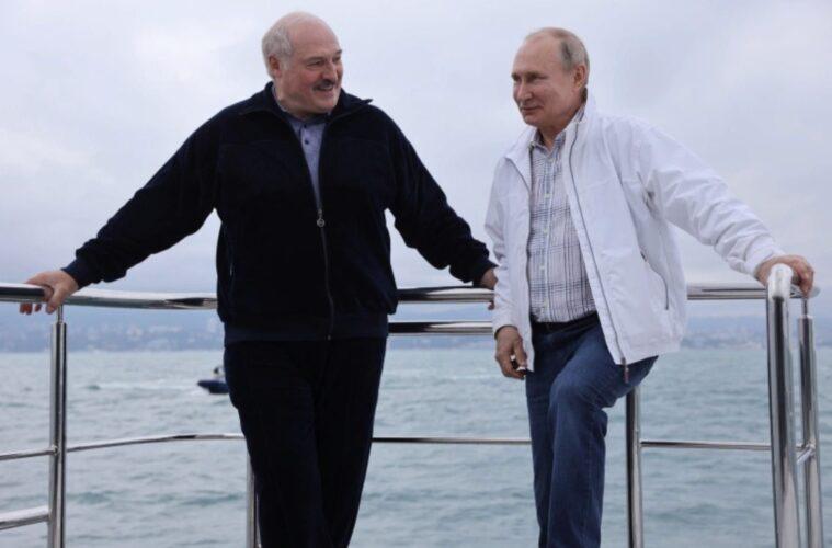 Lukashenko and Putin