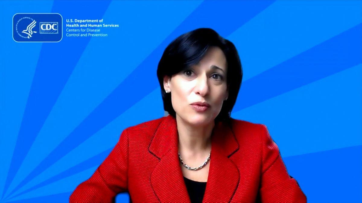 CDC Director, Dr. Walensky