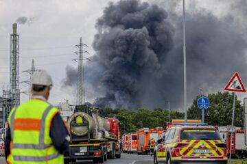 chemical explosion Germany