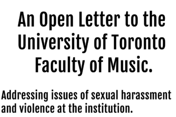 U of T's The Faculty of Music Undergraduate Association