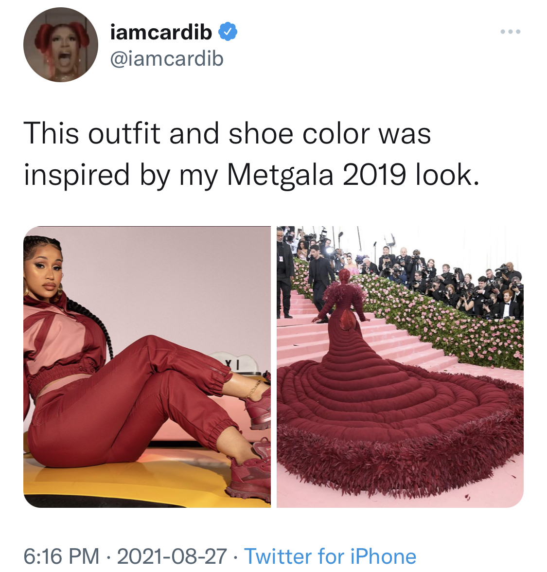 Cardi B x Reebok's Latest Collection Out Now
