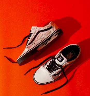 Vans x A$AP Worldwide White Old Skool Shoes