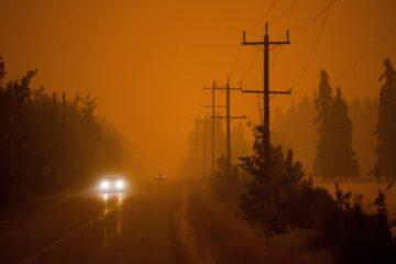 B.C. wildfire smoke