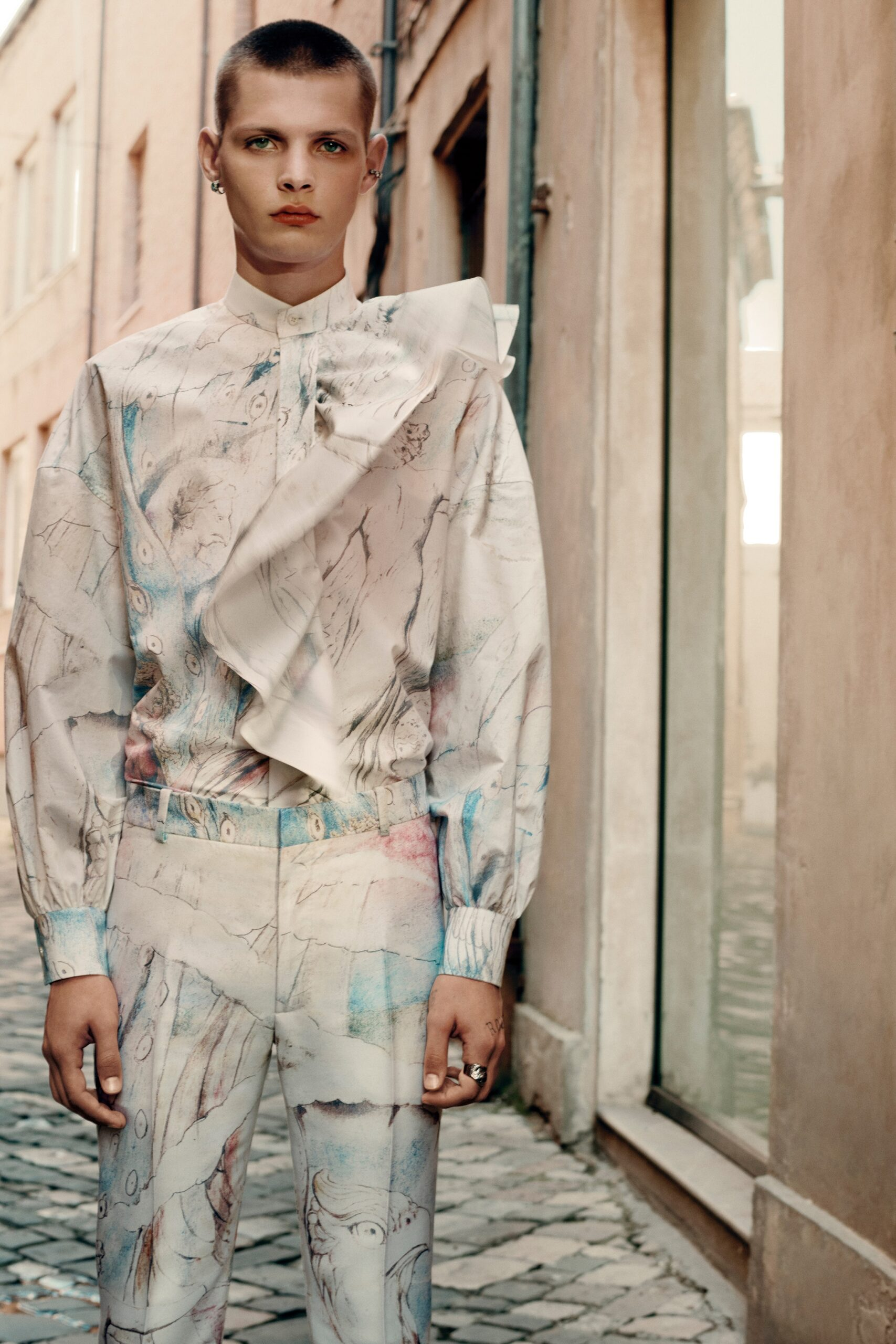 Pink Menswear Alexander McQueen