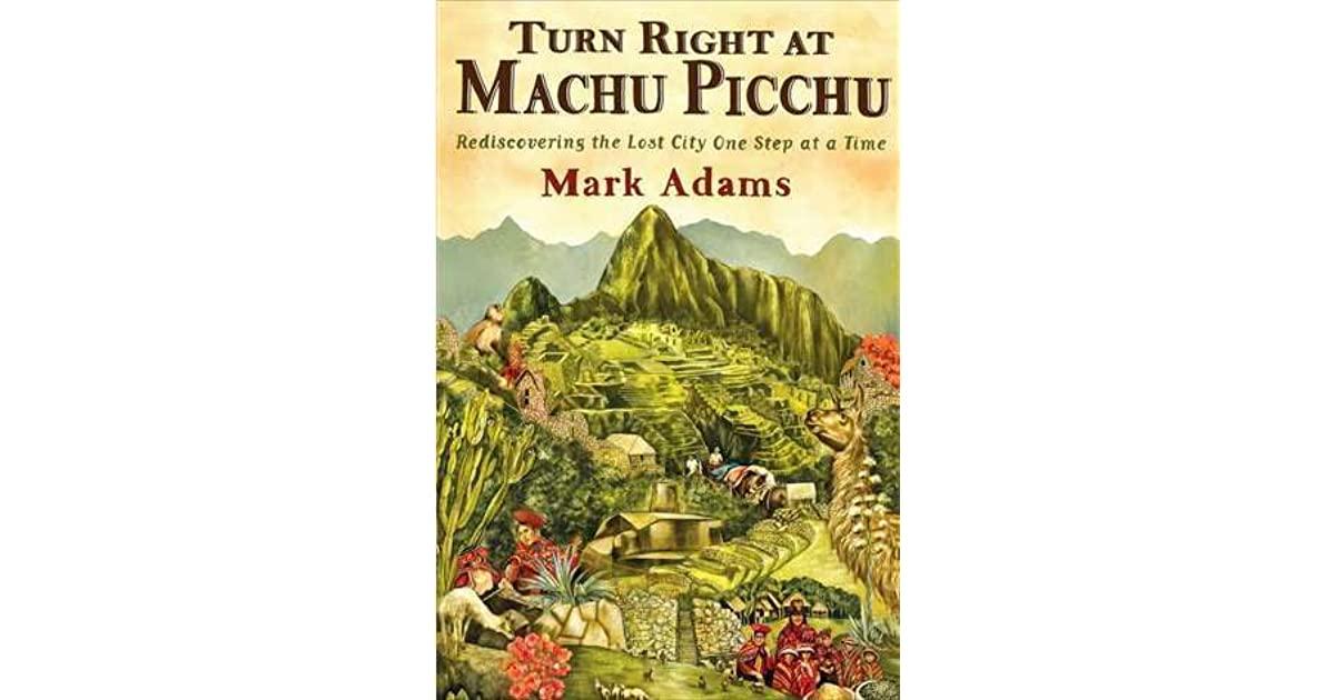 Machu Picchu Book