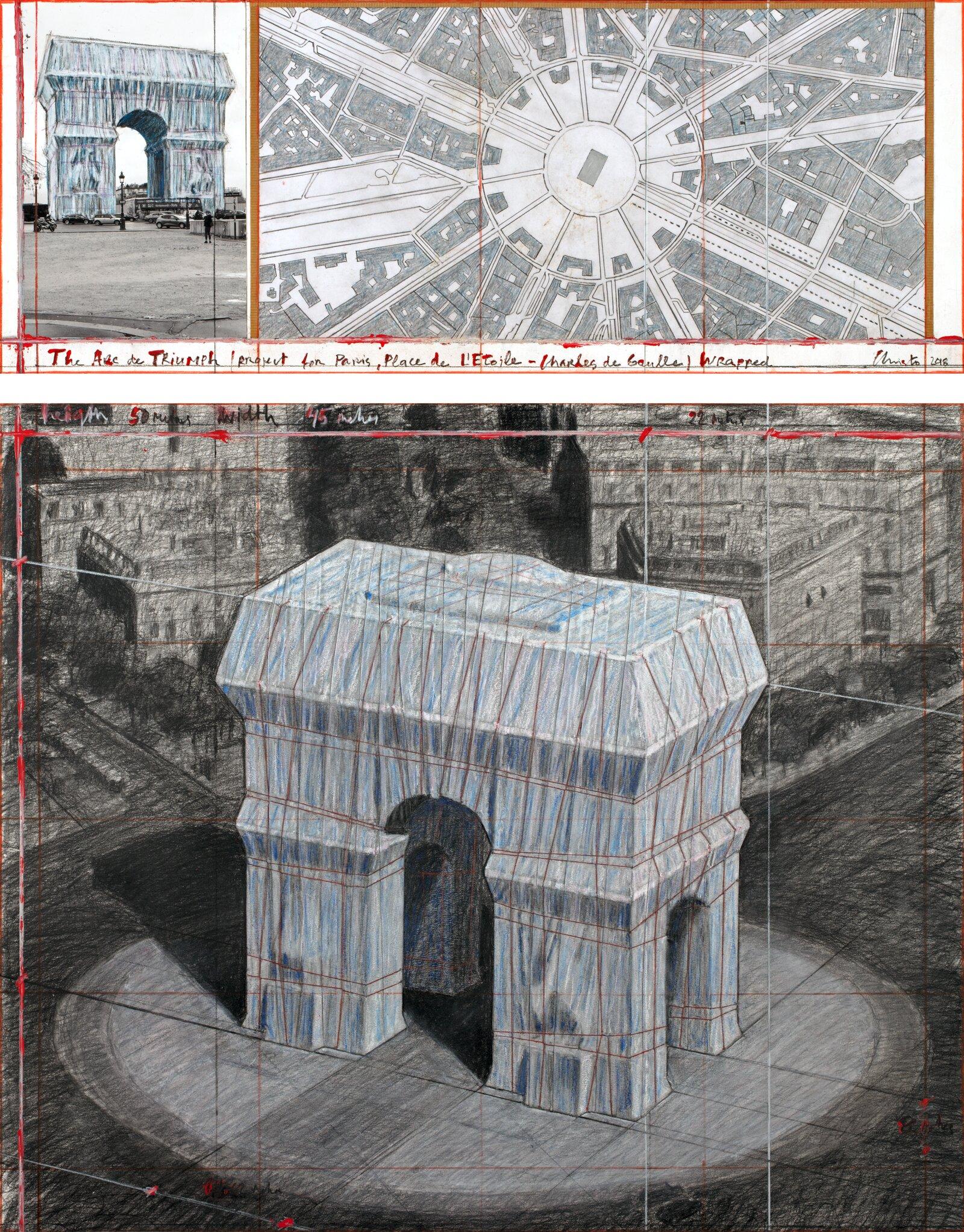 Arc de Triomphe Wrapped Project