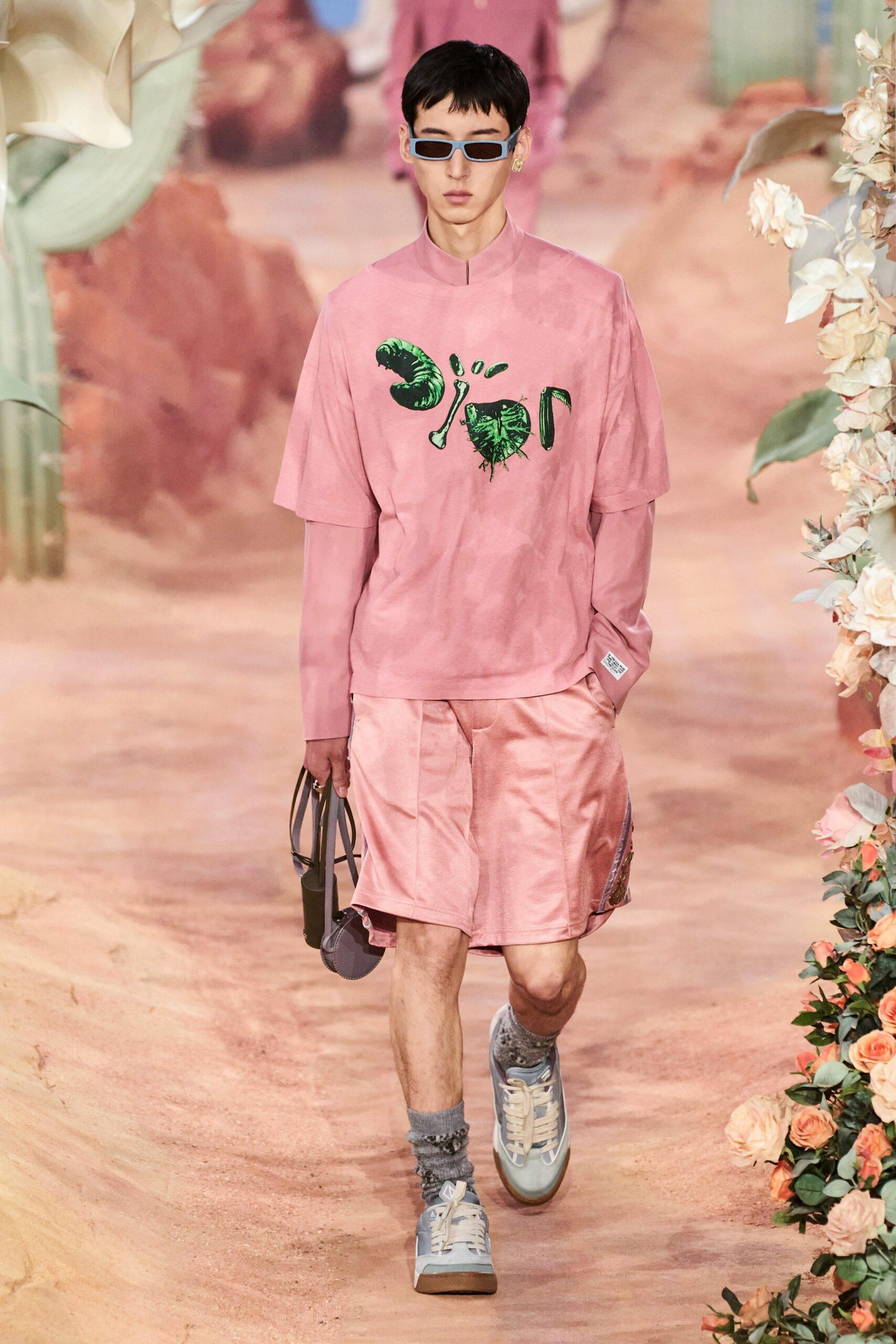 Pink Menswear Dior