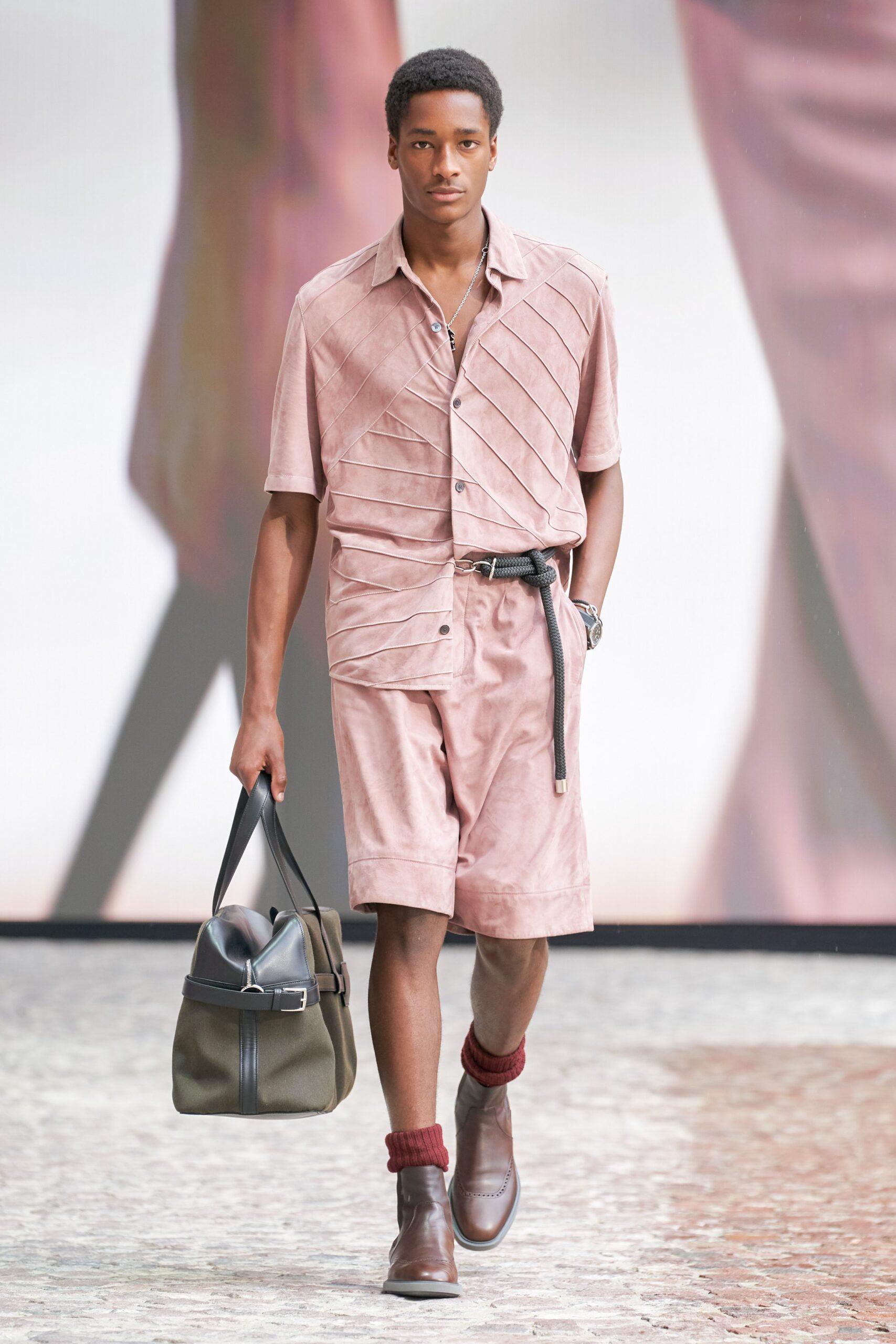 Pink Menswear Hermes