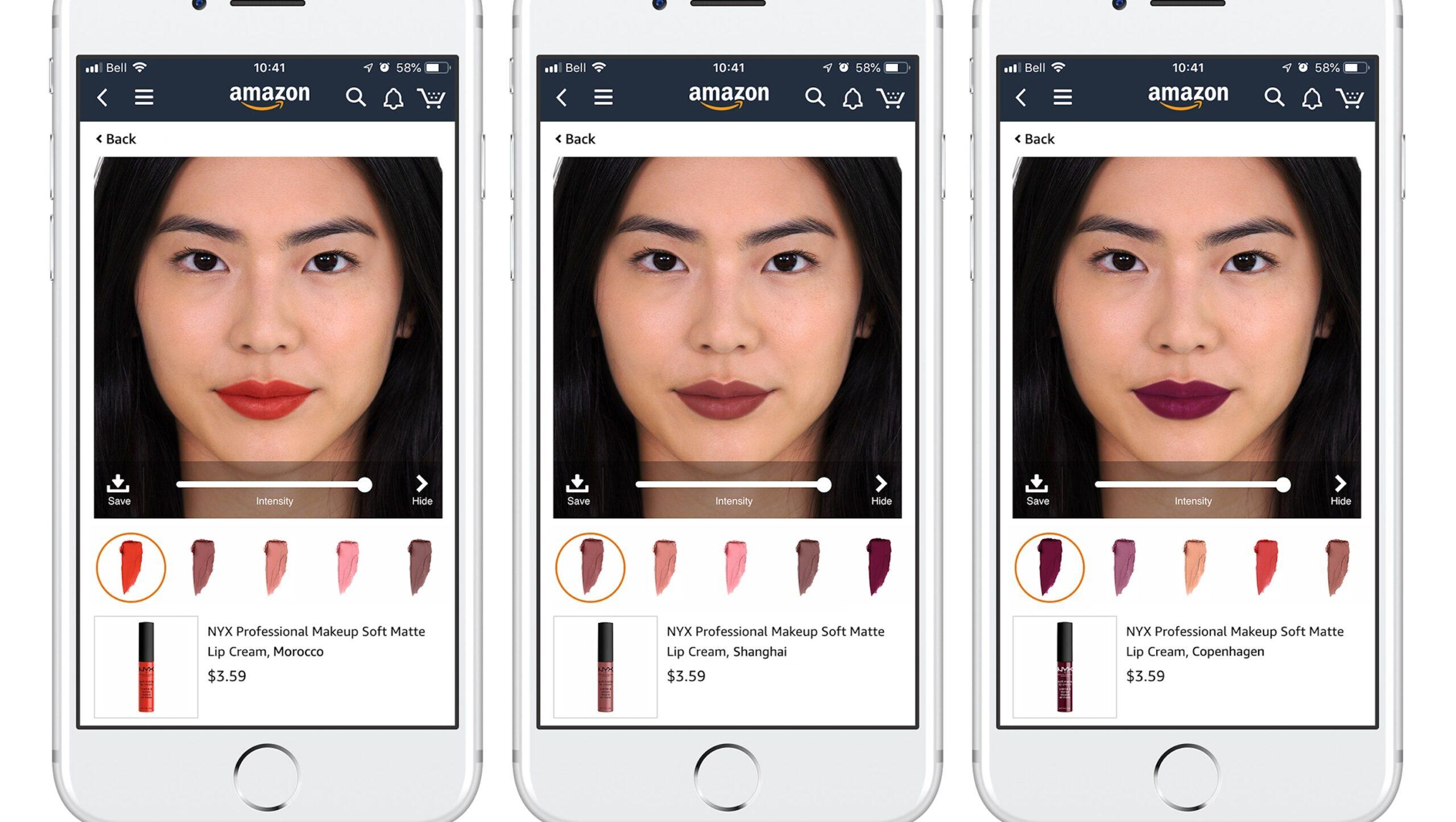 Virtual Reality Makeup Tester