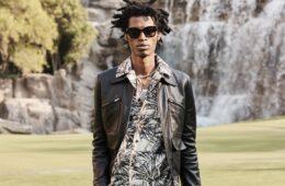 Amiri's Men's Spring 2022 Shows A Rockstar On Vacation