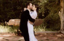 Lily Collin's Wedding
