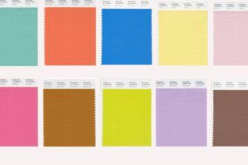 Pantone Fashion Colour Trend Report LFW SS2022
