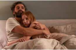 Oscar Isaac and Jessica Chastain in Scenes from a Marriage. Photo Courtesy: HBO